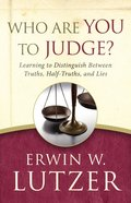 Who Are You to Judge? eBook