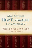 MNTC Complete New Testament Commentary Set (33 Vols) (Macarthur New Testament Commentary Series)