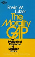 The Morality Gap eBook