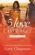 The 5 Love Languages Singles Edition eBook