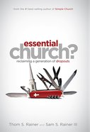 Essential Church? eBook