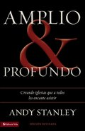 Amplio Y Profundo (Spa) (Deep & Wide) eBook