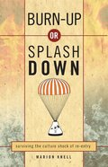 Burn Up Or Splash Down eBook