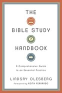 The Bible Study Handbook eBook