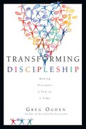 Transforming Discipleship eBook