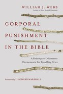 Corporal Punishment in the Bible eBook