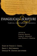 Evangelicals & Scripture eBook