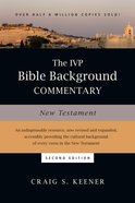 The New Testament (Ivp Bible Background Commentary Series) eBook