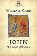 John: The Gospel of Wisdom (Biblical Imagination Series) eBook