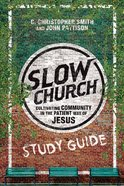 Slow Church (Study Guide) eBook