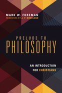 Prelude to Philosophy eBook