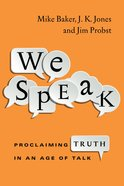 We Speak eBook
