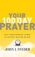 Your 100 Day Prayer eBook