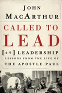 Called to Lead eBook