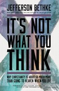 It's Not What You Think eBook