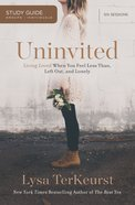 Uninvited (Study Guide) eBook
