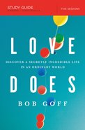 Love Does Study Guide eBook