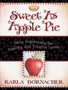 Sweet as Apple Pie eBook