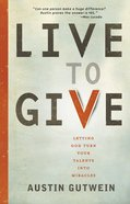 Live to Give eBook