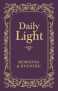 Daily Light: Morning and Evening Devotional eBook