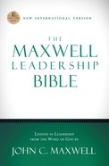 The Maxwell Leadership Bible, NIV eBook
