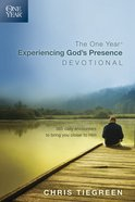 The One Year Experiencing God's Presence Devotional eBook