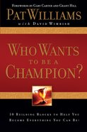 Who Wants to Be a Champion? eBook
