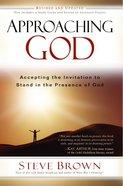 Approaching God eBook