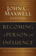 Becoming a Person of Influence eBook
