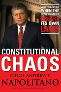 Constitutional Chaos eBook