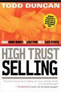 High Trust Selling eBook