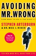 Avoiding Mr Wrong (And What To Do If You Didn't) eBook