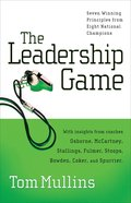 The Leadership Game eBook