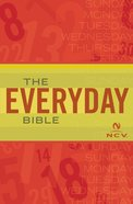 Ncv Everyday Bible eBook