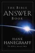 The Bible Answer Book eBook
