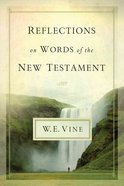 Reflections on Words of the New Testament eBook