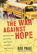 The War Against Hope eBook