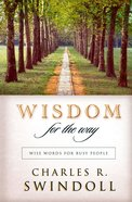 Wisdom For the Way eBook