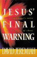 Jesus' Final Warning eBook