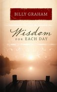 Wisdom For Each Day eBook