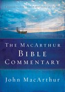 The Macarthur Bible Commentary eBook