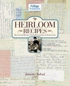Heirloom Recipes eBook
