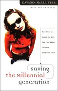 Saving the Millennial Generation eBook