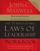 21 Irrefutable Laws of Leadership (Workbook) eBook
