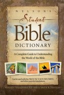 Nelson's Student Bible Dictionary eBook