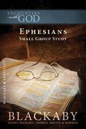 Ephesians (Encounters With God Series) eBook