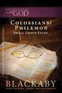 Colossians/Philemon (Encounters With God Series) eBook