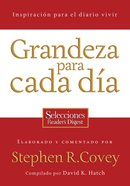 Grandeza Para Cada Dia (Spa) (Everyday Greatness) eBook