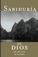 Sabiduria De Dios Para Cada Una De Tus Necesidades (Spanish) (Spa) (God's Wisdom For All Your Needs) eBook