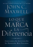 Lo Que Marca La Diferencia (Spanish) (Spa) (Difference Maker, The) eBook